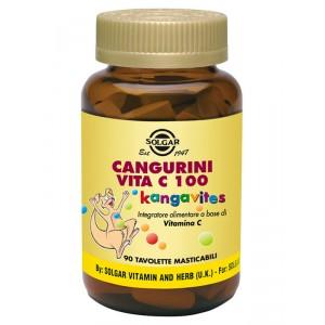 Solgar Cangurini Vita C 100 - 90 tavolette masticabili