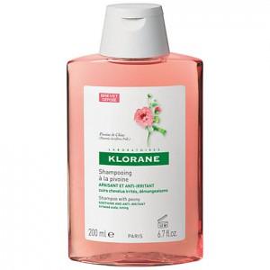 Klorane shampoo alla Peonia 200 ml - lenitivo, cuoio capelluto irritato, con prurito