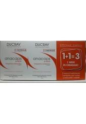 Ducray Anacaps 1 mese in OMAGGIO 90 capsule al prezzo di 30